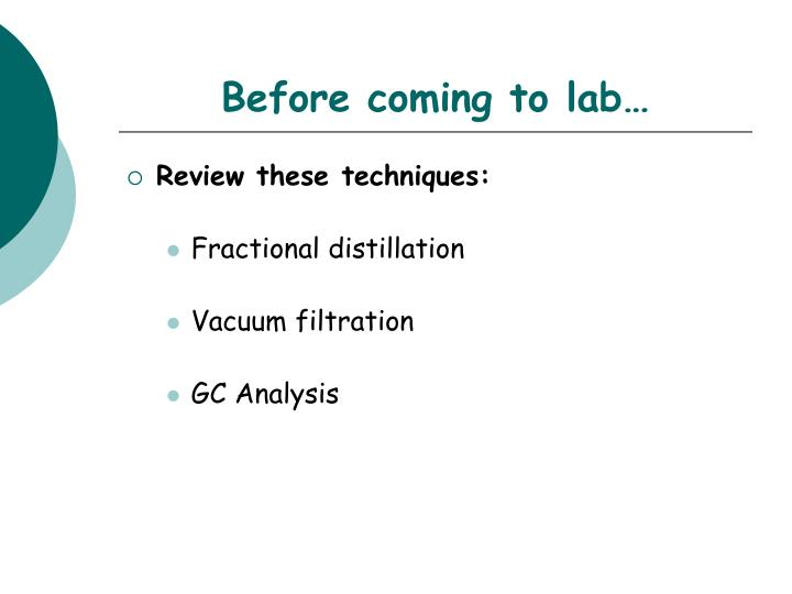 recrystalization lab report Recitation notes for exp 3 crystallization note: in order to follow these notes have your lab textbook available for quick.