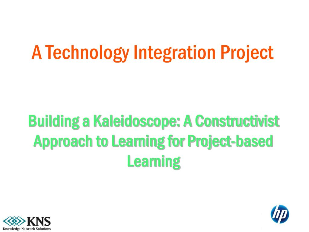 A Technology Integration Project