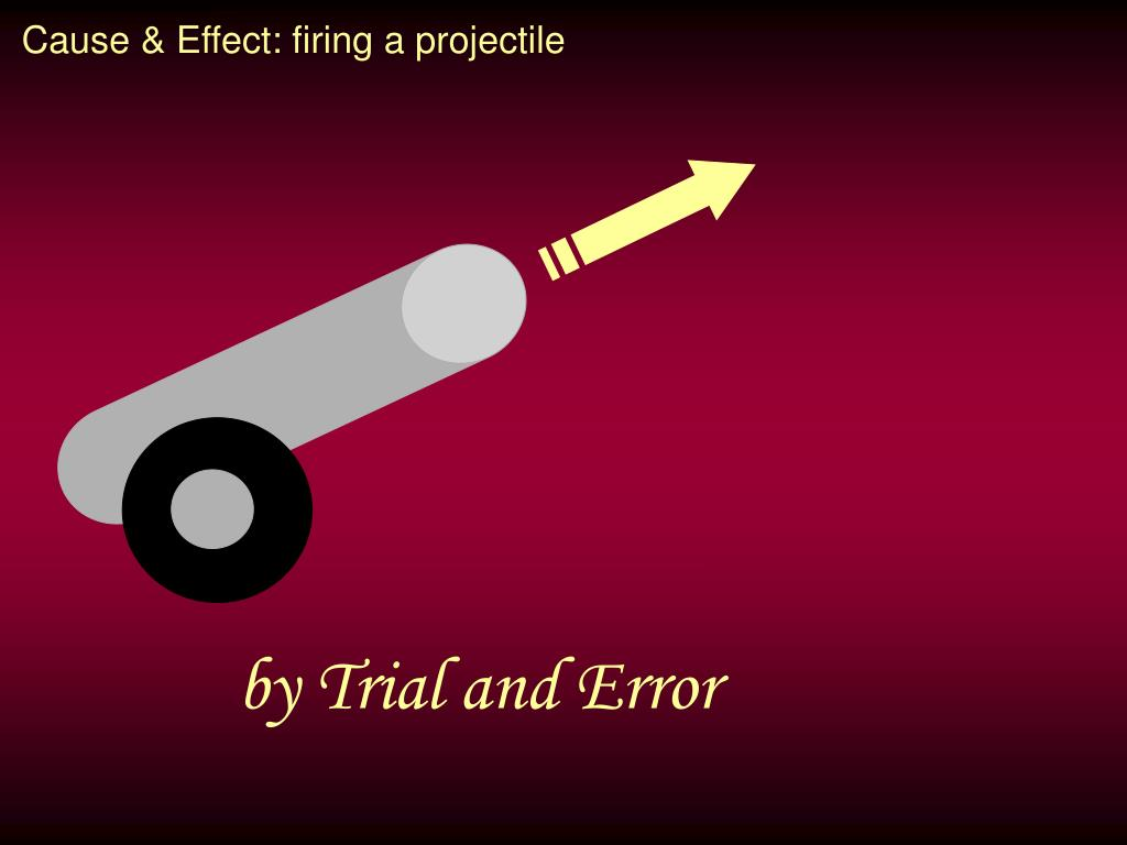 Cause & Effect: firing a projectile