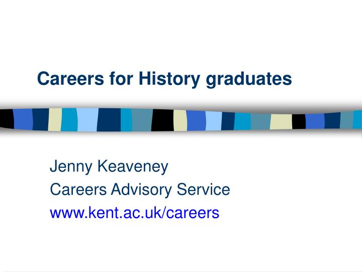 Careers for History graduates