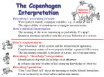 the copenhagen interpretation