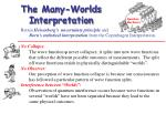the many worlds interpretation