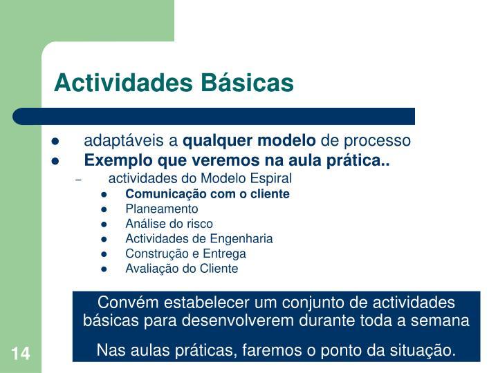 Actividades Básicas