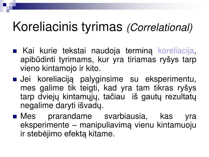 Koreliac