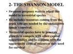 2 the swanson model