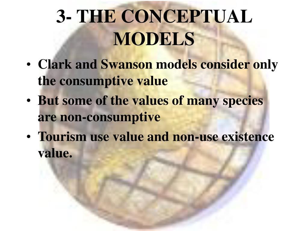 3- THE CONCEPTUAL MODELS