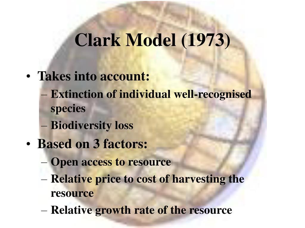 Clark Model (1973)
