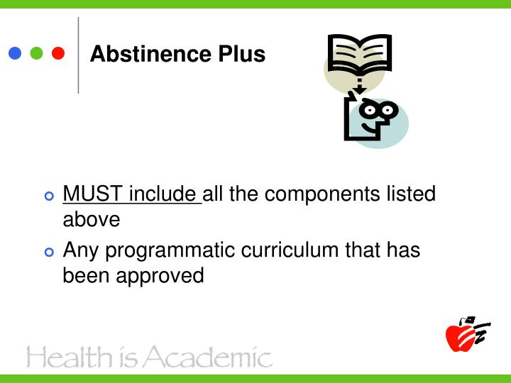 Abstinence Plus