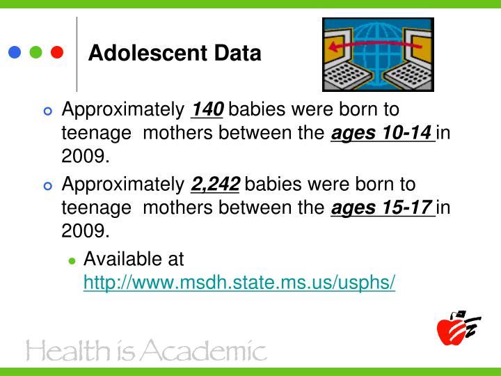 Adolescent Data