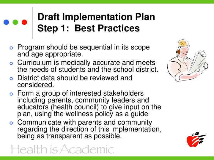 Draft Implementation Plan