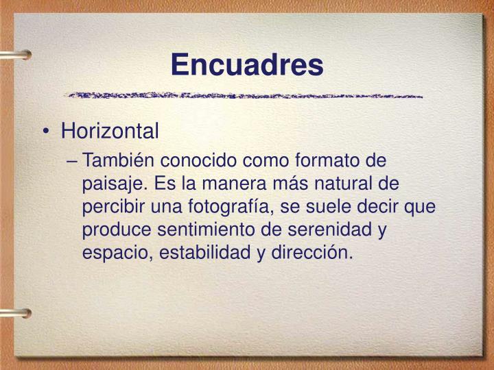 Encuadres