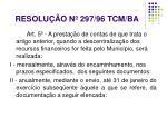 resolu o n 297 96 tcm ba1