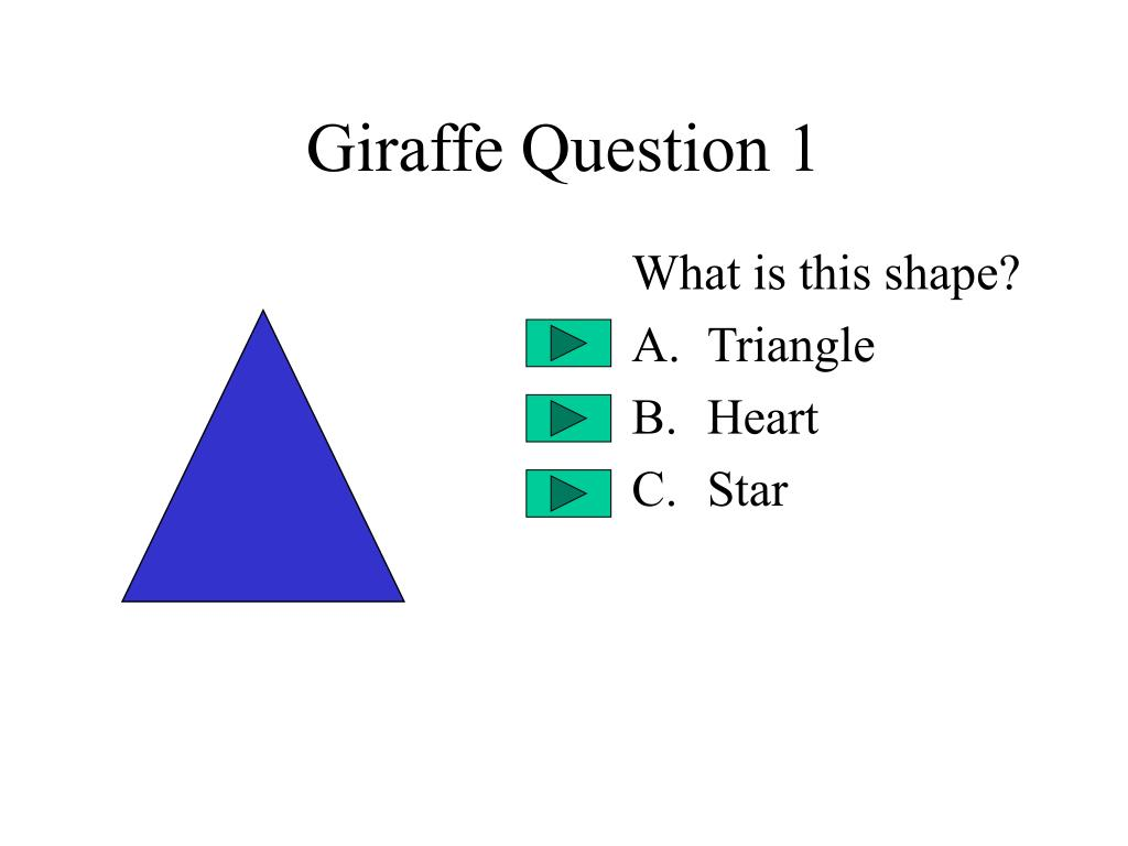 Giraffe Question 1