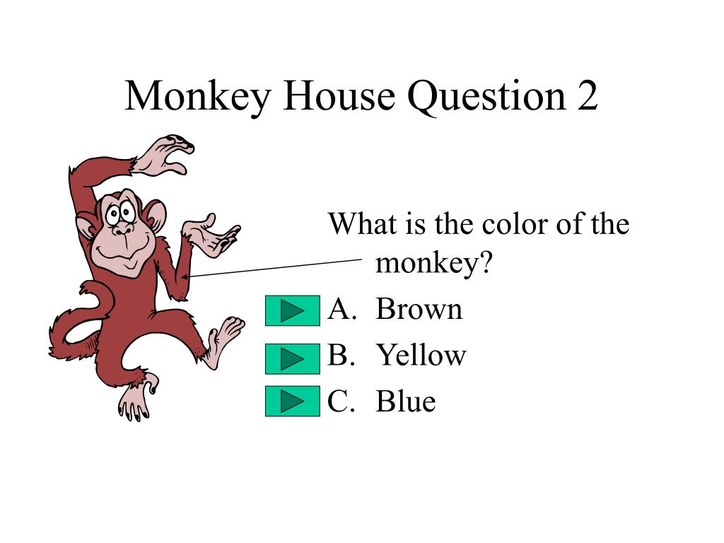 Monkey House Question 2
