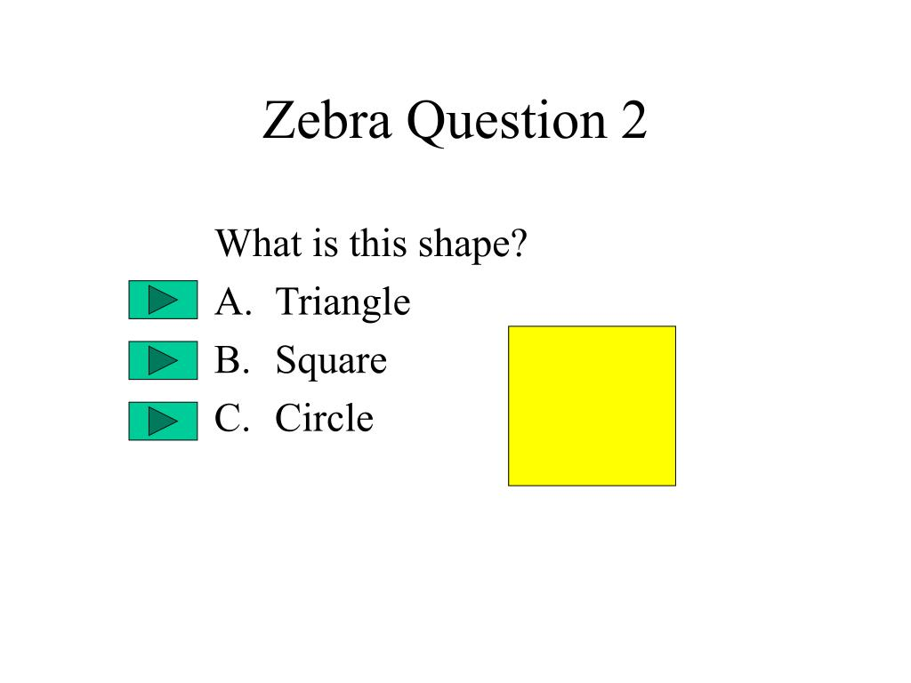 Zebra Question 2