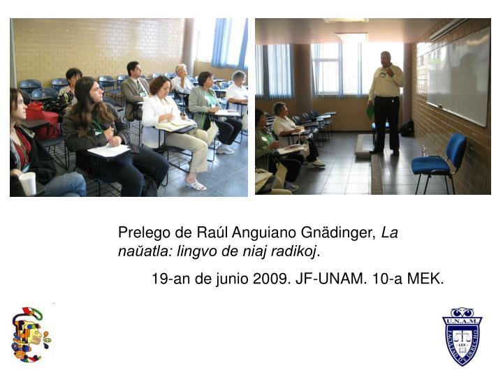 Prelego de Raúl Anguiano