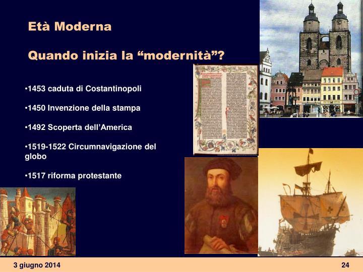 Età Moderna