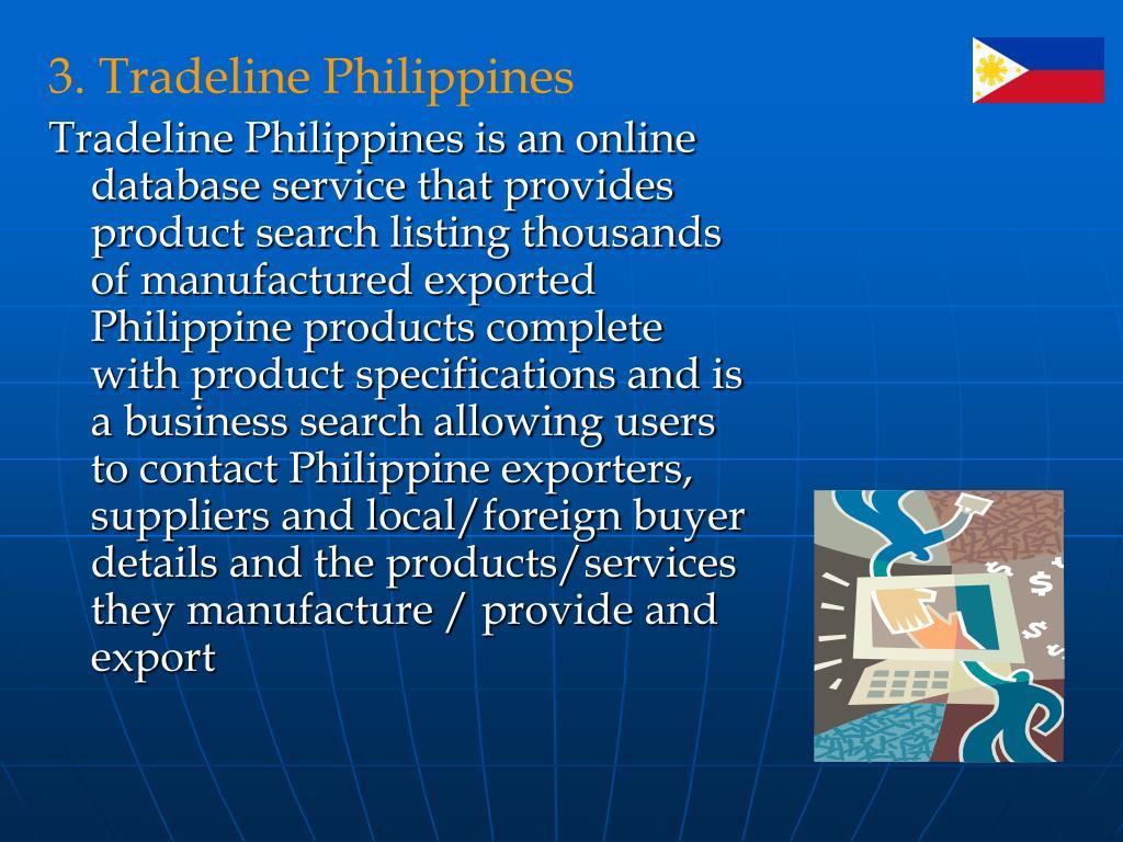 3. Tradeline Philippines