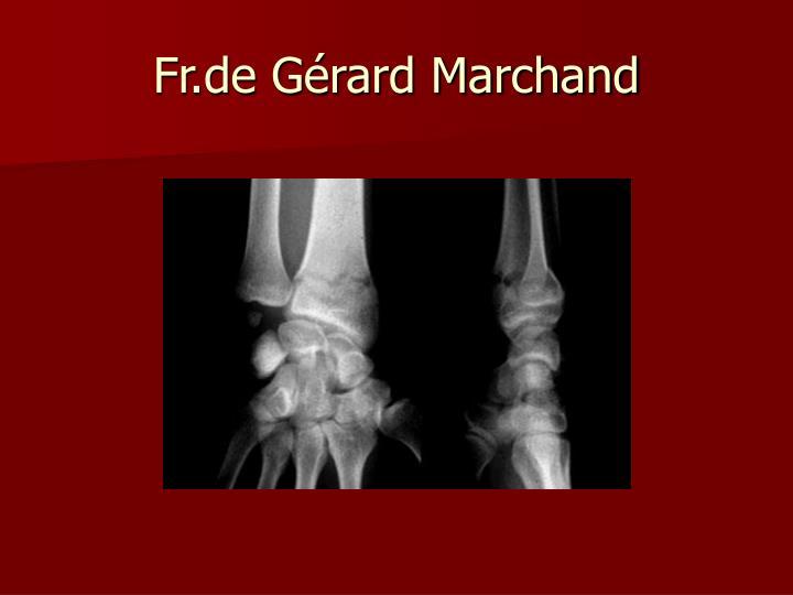 Fr.de Gérard Marchand