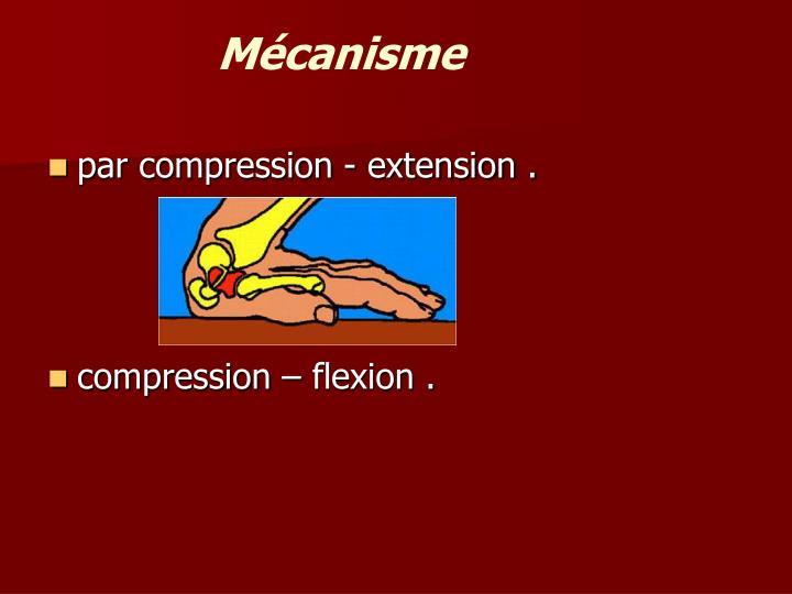 Mécanisme