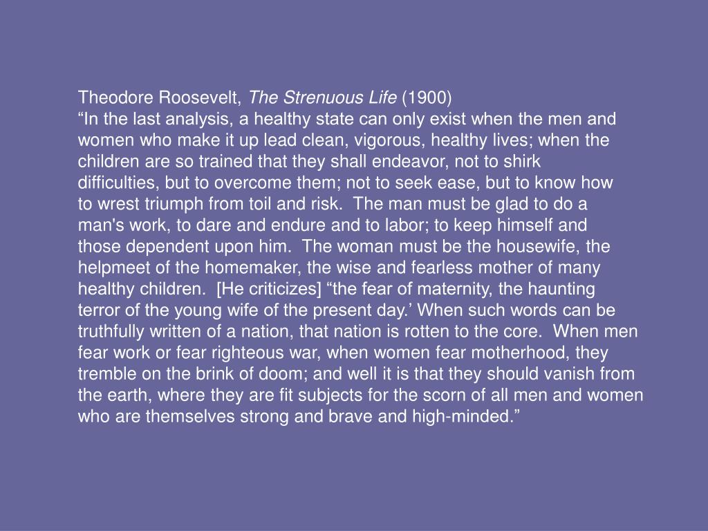 Theodore Roosevelt,