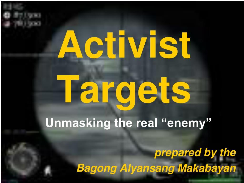 Activist Targets