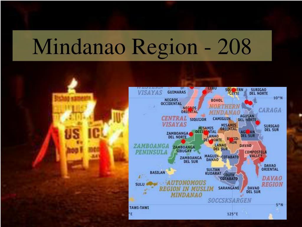 Mindanao Region - 208