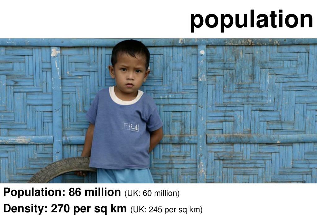 Population: 86 million
