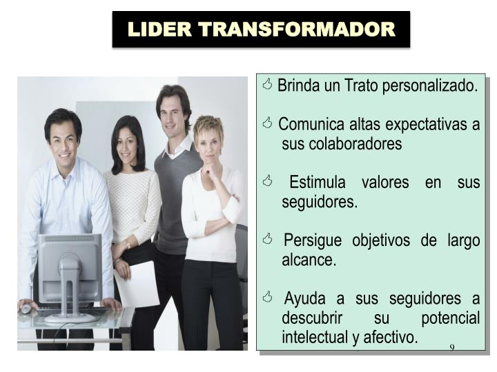 LIDER TRANSFORMADOR
