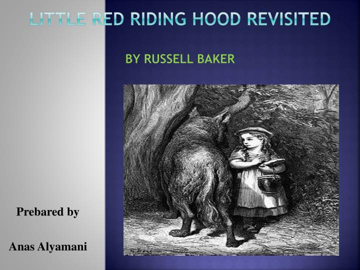 little red riding hood revisited by Director steve moore has finally posted redux riding hood, a disney short, which was nominated for an academy award in 1997, but has rarely been seen.