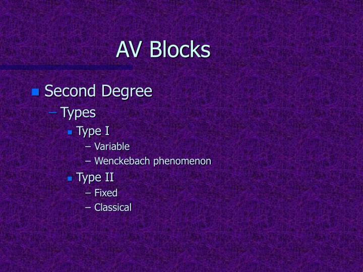 AV Blocks
