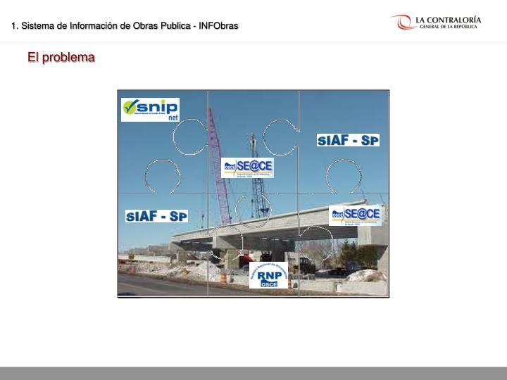 1. Sistema de Información de Obras Publica - INFObras