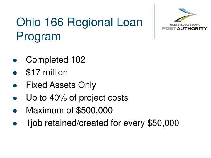 Ohio 166 Regional Loan Program