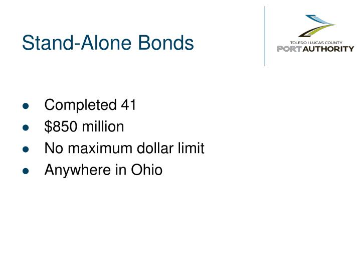 Stand-Alone Bonds