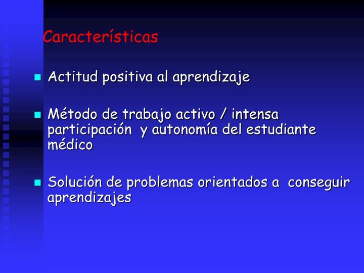 Caractersticas