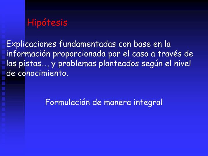 Hiptesis