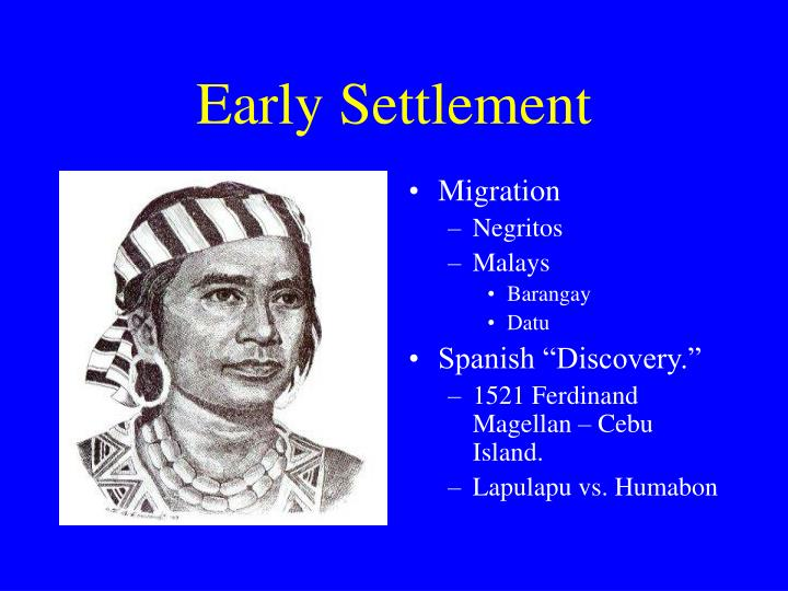 Early settlement l.jpg