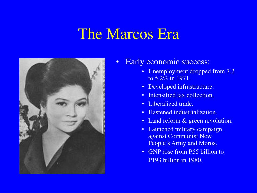 The Marcos Era