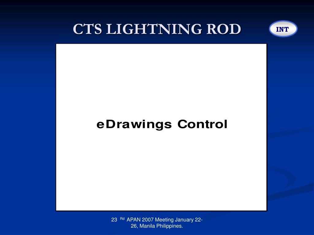CTS LIGHTNING ROD