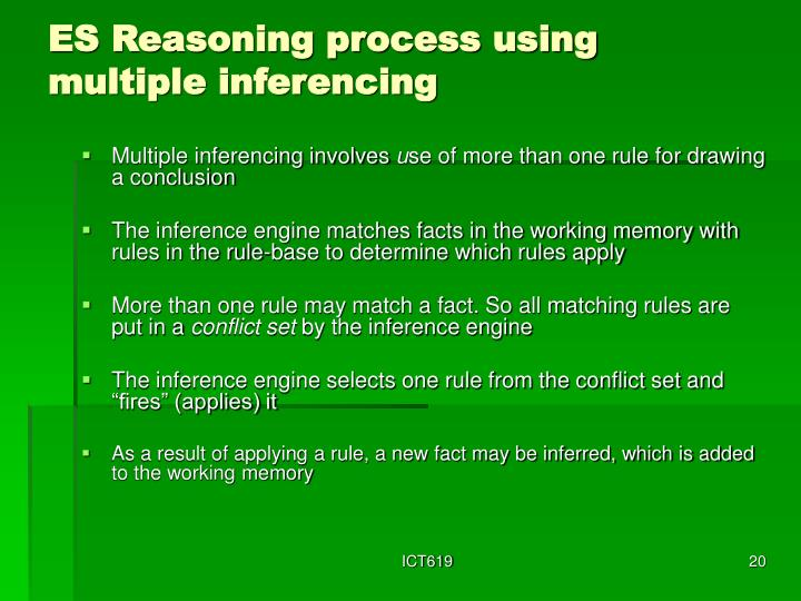 ES Reasoning process