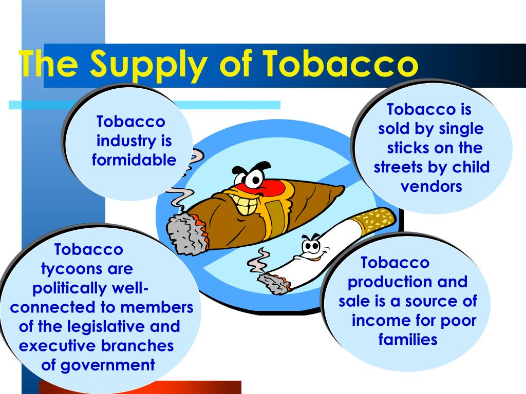 Tobacco is