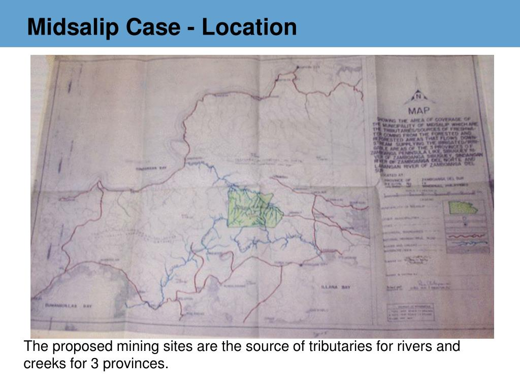 Midsalip Case - Location