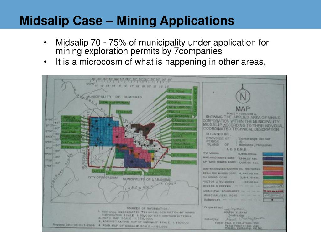 Midsalip Case – Mining Applications