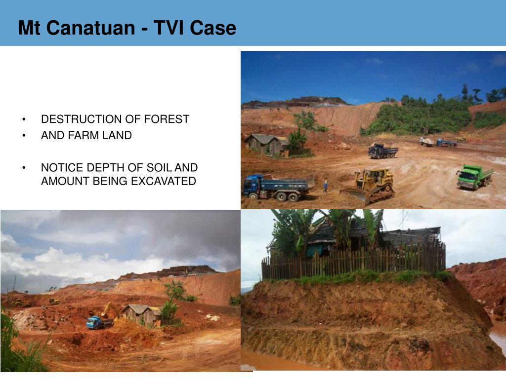 Mt Canatuan - TVI Case