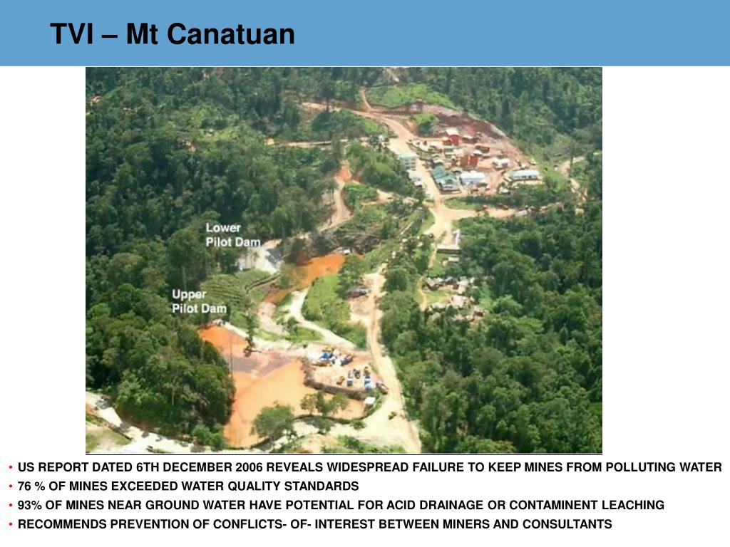TVI – Mt Canatuan