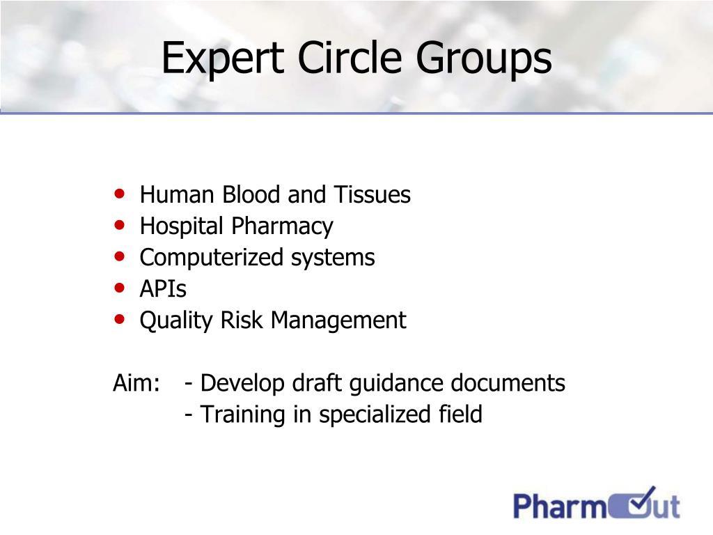 Expert Circle Groups