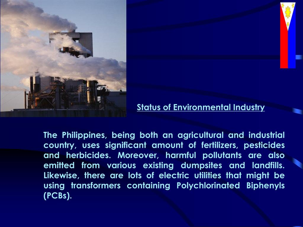 Status of Environmental Industry