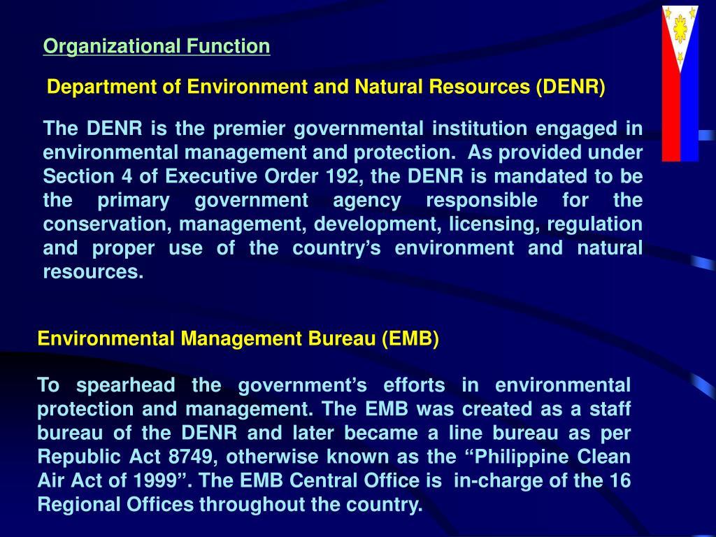 Organizational Function
