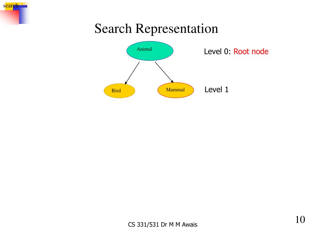 Search Representation