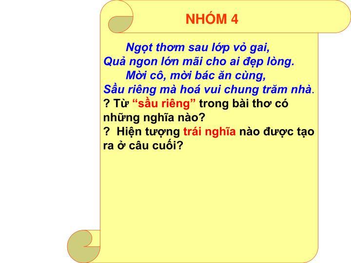 NHÓM 4